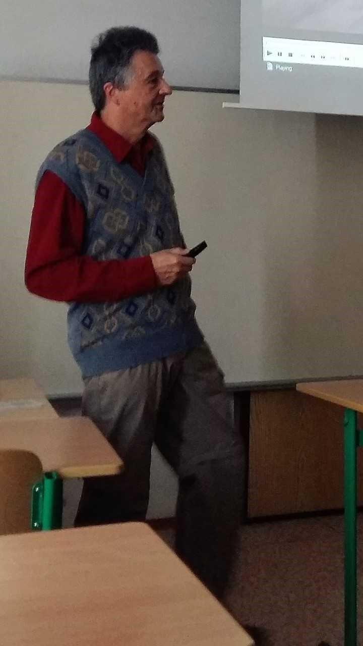 Přednáška profesora Druckmüllera