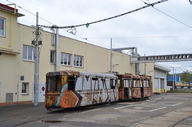 tramvaj 4MT před rekonstrukcí